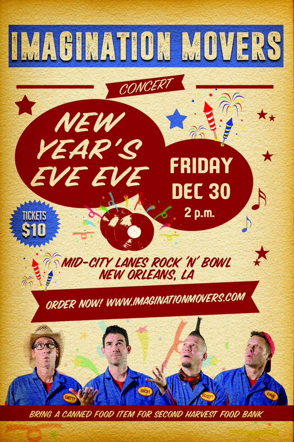 Win Tickets to see the Movers in New Orleans!