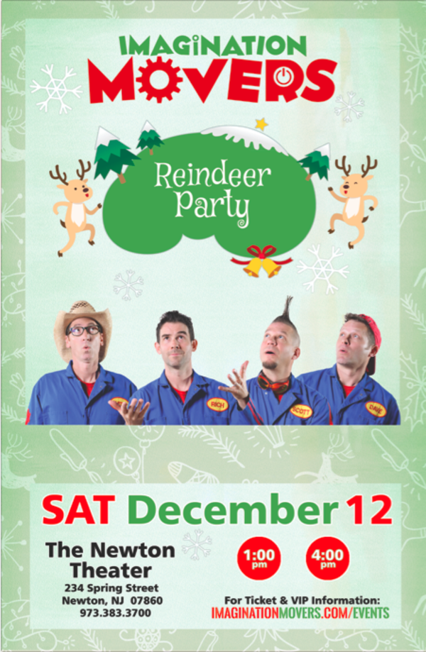 Imagination Movers Reindeer Party