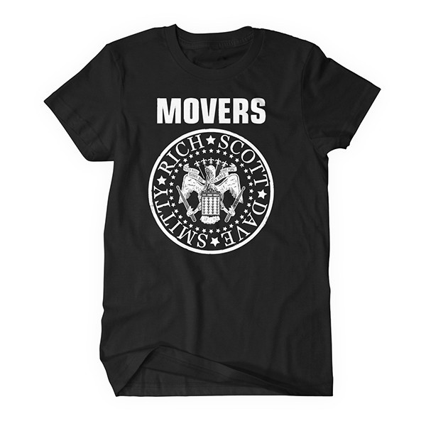 Movers 15th Anniversary Tee