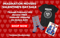 Movers Valentine's Day Sale