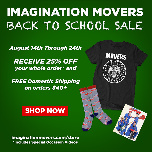 Back to School Sale - Mover Style