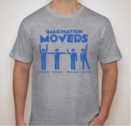 Retro Movers Tee image
