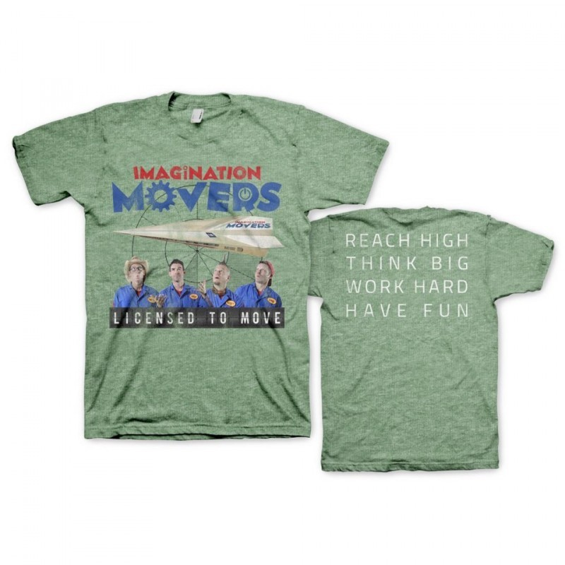 Licensed to Move T-Shirt