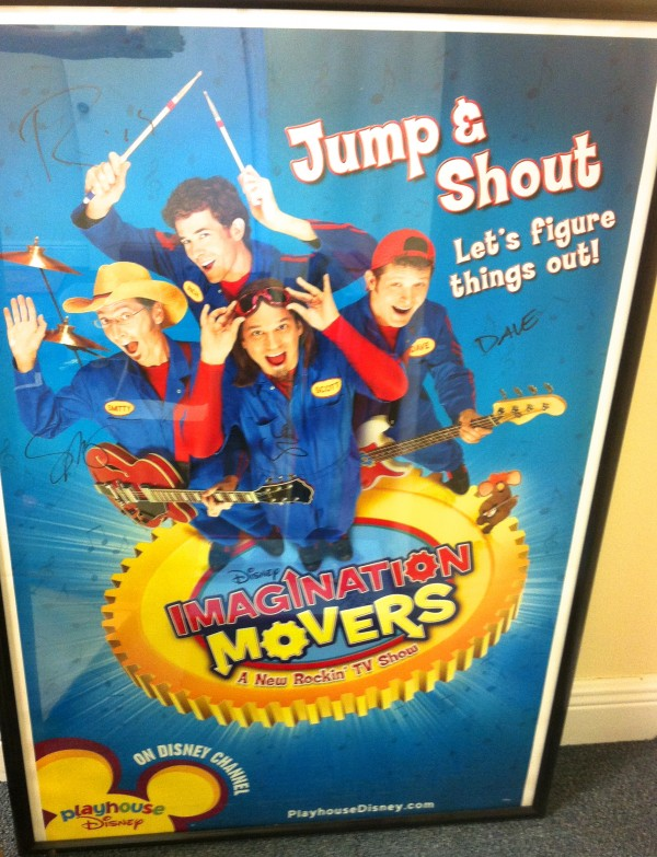 Autographed Jump and Shout Poster (Unframed)