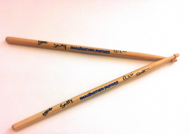 Signed Mover Drumsticks