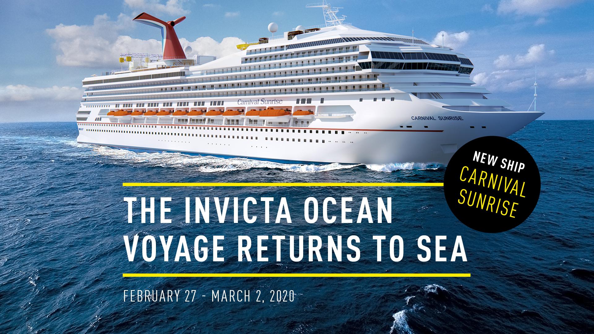 Invicta Cruise Home