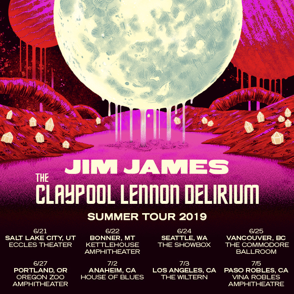 Jim James & The Claypool Lennon Delirium Announce Co-Headline Tour