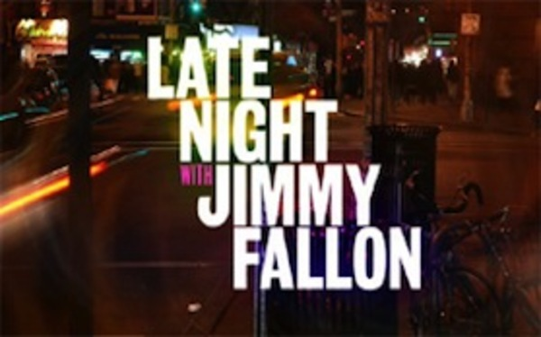 Jim Performing on Late Night with Jimmy Fallon