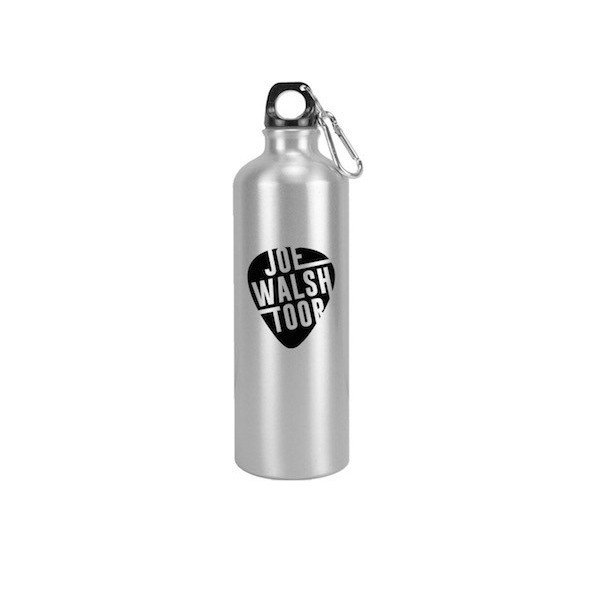 Joe Walsh Toor Silver Water Bottle
