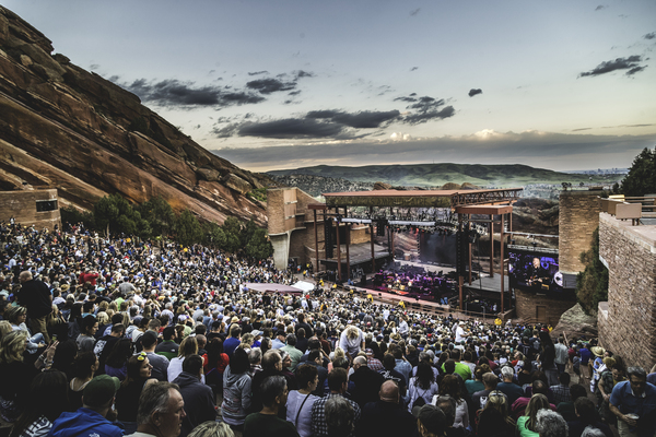 Morrison, CO - Red Rock Amphitheatre - 5/29
