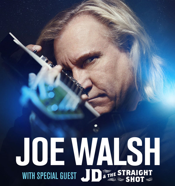 "JOE WALSH TO KICK OFF SOLO ""WALSH TOOR"" THIS SATURDAY JULY 16 IN CINCINNATI"