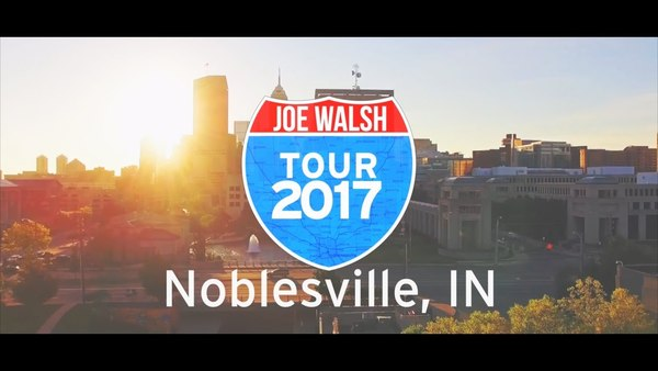 Joe Walsh Tour 2017 Noblesville, IN Wrap Up