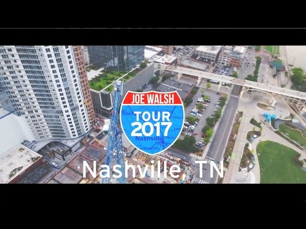 Joe Walsh Tour 2017 Nashville, TN Wrap Up