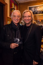 Joe and Jimmy Page