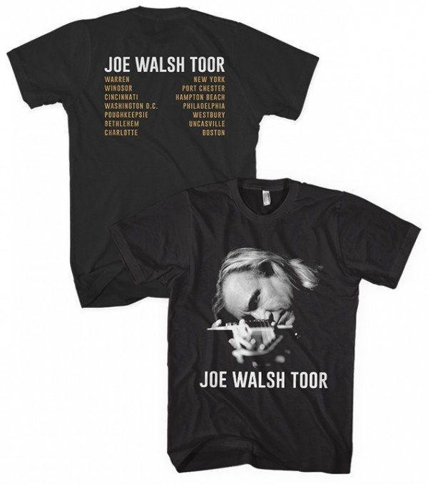 Joe Walsh Toor T-Shirt Black