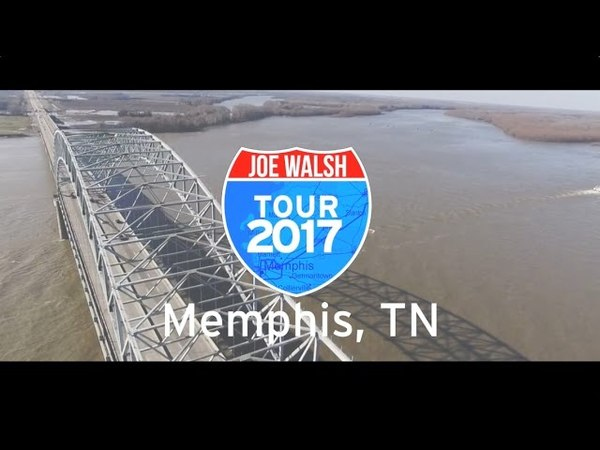 Joe Walsh Tour 2017 Memphis, TN Wrap Up