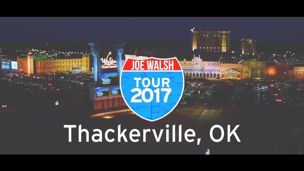 Joe Walsh Tour 2017 Thackerville, OK Wrap Up