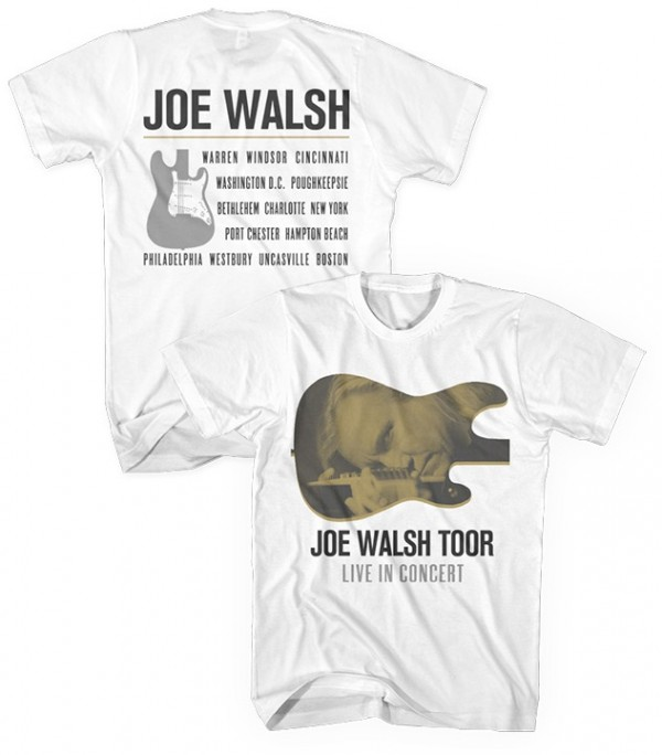 Joe Walsh Toor T-Shirt White