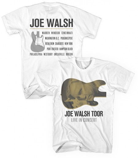 Joe Walsh Toor T-Shirt White image