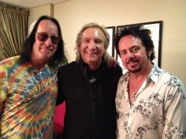 Hanging with Todd and Luke backstage