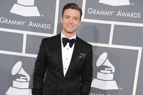 JT NOMINATED FOR A GRAMMY AT 59TH ANNUAL AWARDS CEREMONY