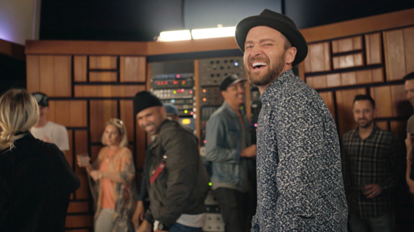 "JT'S ""CAN'T STOP THE FEELING!"" Debuted at #1 on Billboard's Hot 100"