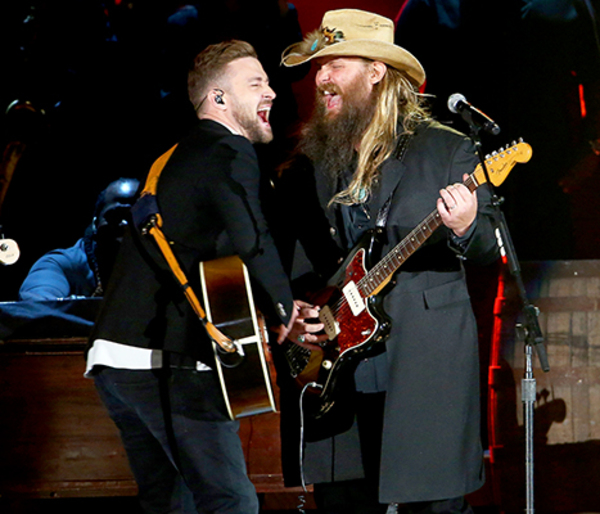JT and Chris Stapleton Take The CMAs!