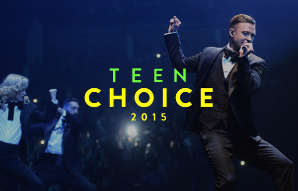 JT NOMINATED FOR 2 TEEN CHOICE AWARDS