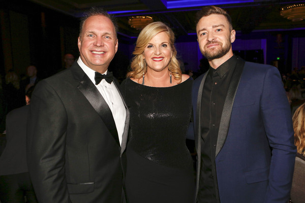 JT And Jimmy Carter Present ASCAP Country Music Voice Of Music Award to Trisha Yearwood