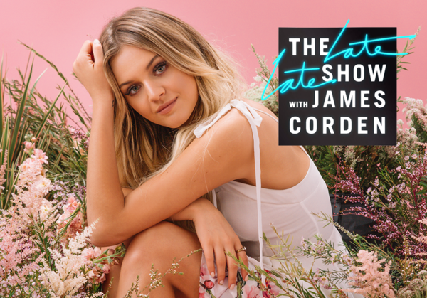 Tonight! Kelsea's Performing on The Late Late Show with James Corden ✨