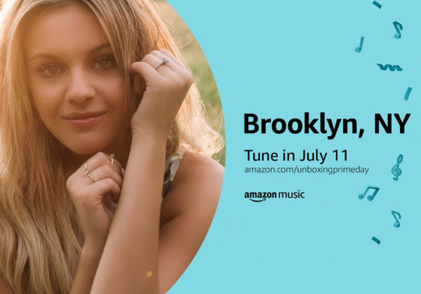 Kelsea to Perform LIVE for #PrimeDay!
