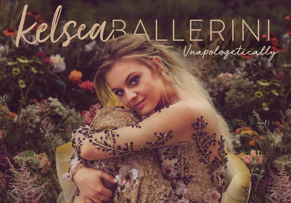 "Kelsea Reveals Album Cover for ""Unapologetically"""
