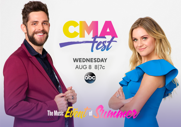 Back Again to Co-Host CMA Fest 2018!