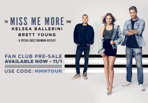 The Miss Me More Tour - Pre-sale Starts Now!
