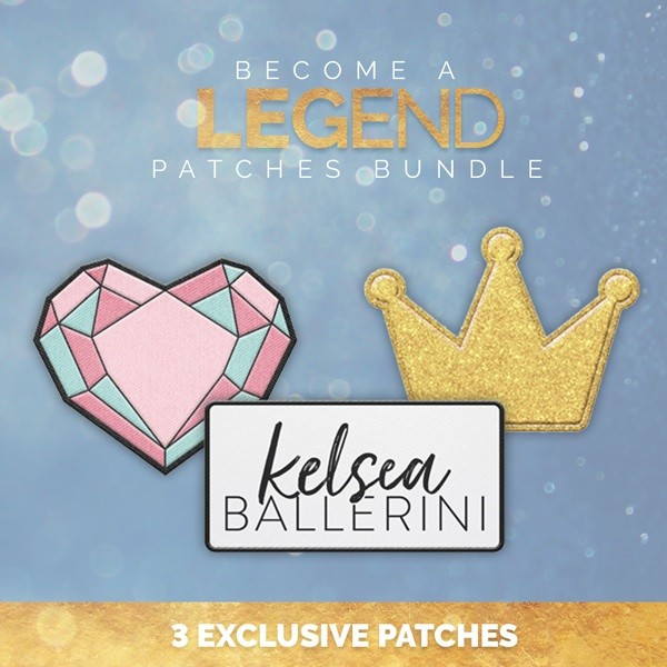 Become a Legend Patches Bundle image