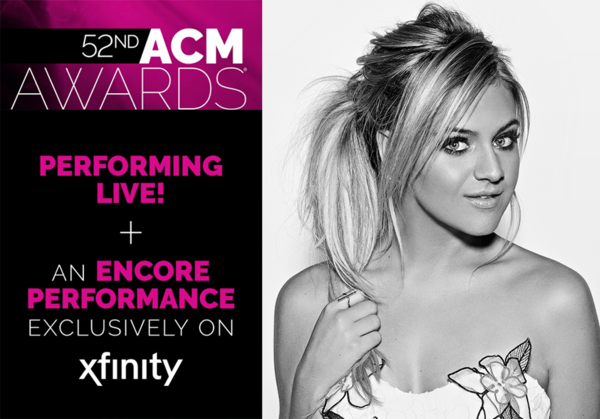 ACM Award Nominee Kelsea Ballerini to Perform on the 52nd ACM Awards