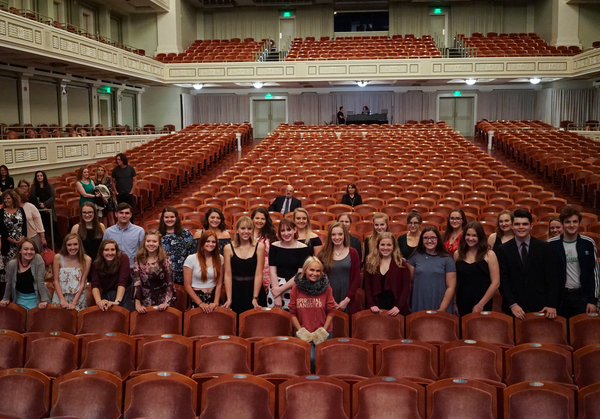 Kristin Partners with CMA Foundation for Nashville Student Soundcheck