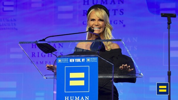 Kristin Honored as Ally for Equality by HRC