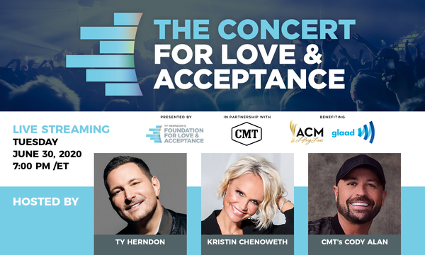 Kristin to Host CMT's Concert For Love & Acceptance