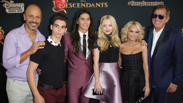 Birthday Celebrations at Disney Descendants Premiere