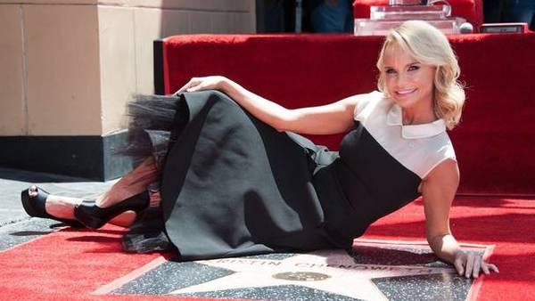 Kristin Chenoweth Receives a star on the Hollywood Walk of Fame