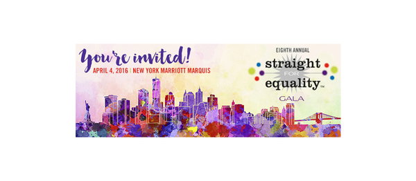 Kristin To Be Honored at Straight For Equality Gala