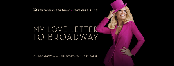 Submit Your Request For 'My Love Letter to Broadway'