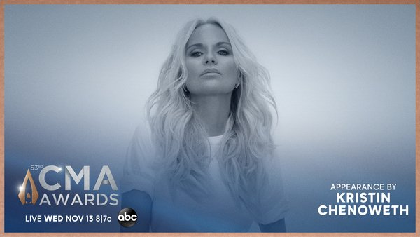 Kristin to Present on the CMA Awards