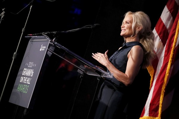 Kristin Honored with Philanthropist Award at Grammys on the Hill