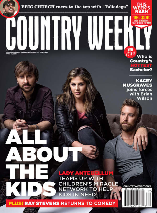 Lady A on Country Weekly Cover for Work with Children's Miracle Network