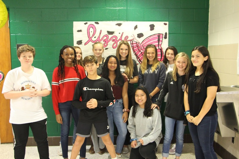 SINGER LIZZIE SIDER VISITS MEADOWLARK MIDDLE - More Photos!
