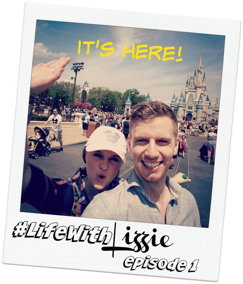 LIFE WITH LIZZIE Ep. 1: Lizzie and Kenneth in Disney!