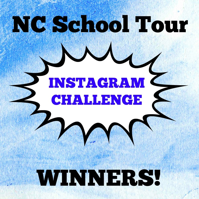INSTAGRAM CHALLENGE WINNERS!