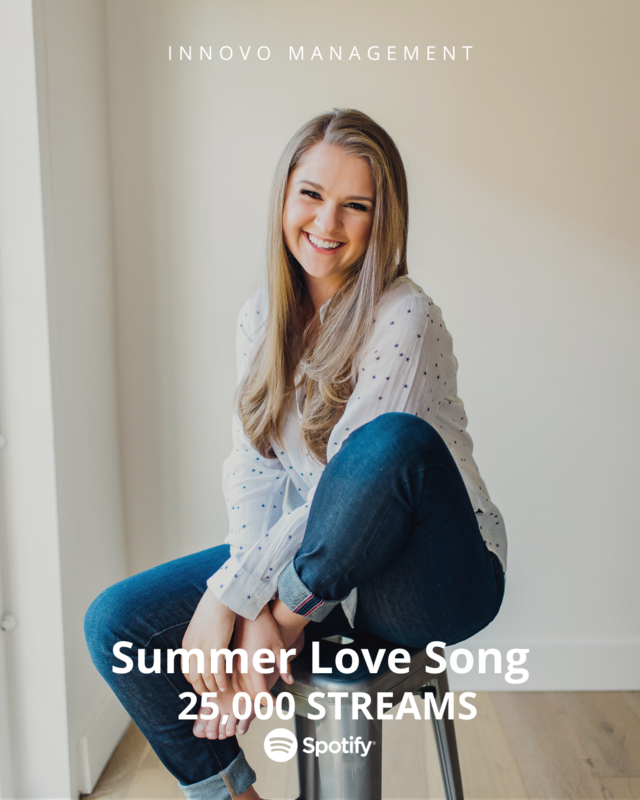 Summer Love Song 25K Streams on Spotify! Thank You!